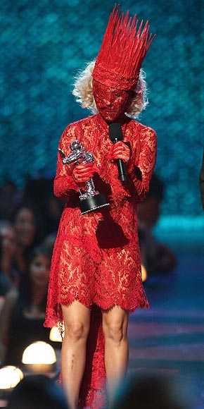AWARD ACCEPTANCE  photo | Lady Gaga