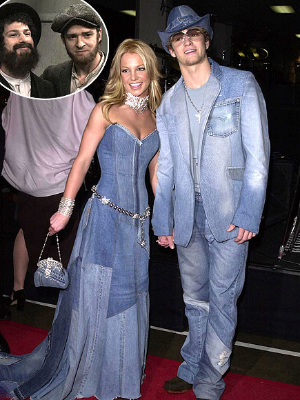 photo | Andy Samberg, Britney Spears, Justin Timberlake