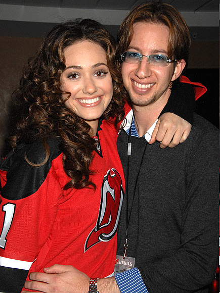 Former husband and wife couple: Justin Siegel and Emmy Rossum