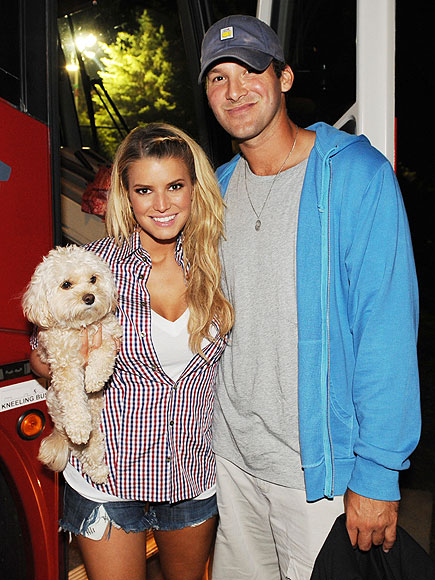 JESSICA & TONY photo | Jessica Simpson, Tony Romo