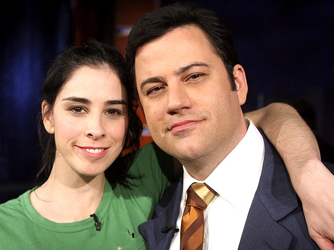JIMMY & SARAH photo | Jimmy Kimmel, Sarah Silverman