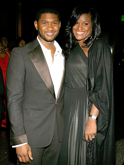 USHER & TAMEKA photo | Usher