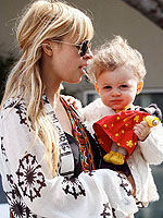 Cute Alert!Look WhoTurned 1 | Nicole Richie