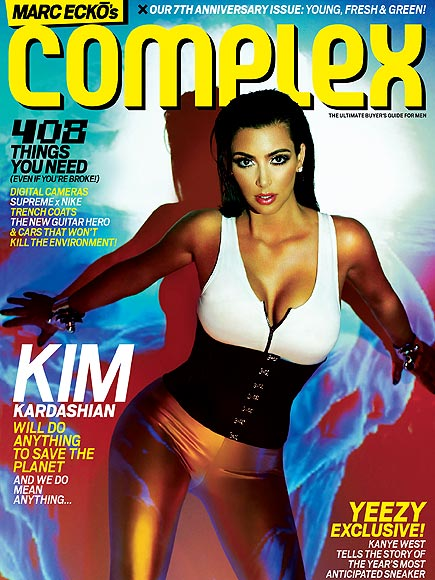 A 'COMPLEX' BODY ISSUE photo | Kim Kardashian