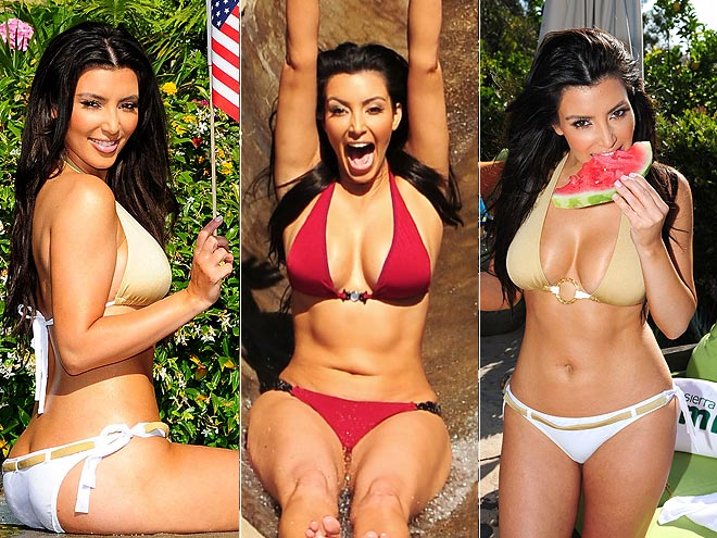 KIM'S BIKINI BODY photo | Kim Kardashian