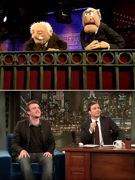 HOW I MET YOUR MUPPET  photo | Jason Segel, Jimmy Fallon
