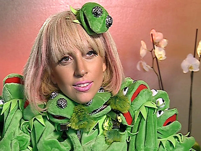 KERMIT THE FROCK photo | Lady Gaga
