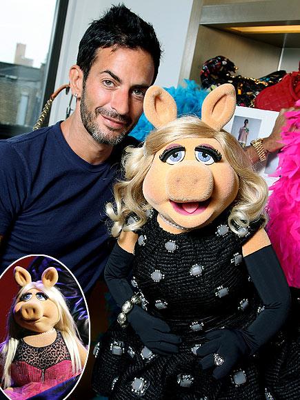 DESIGNING MISS PIGGY photo | Marc Jacobs, Miss Piggy