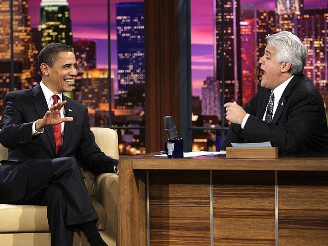 LOW BOWL photo | Barack Obama, Jay Leno
