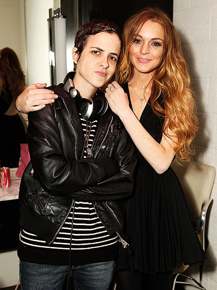 TWEET-BREAK photo | Lindsay Lohan, Samantha Ronson