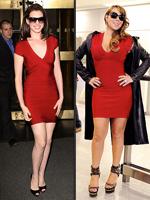 OutrageousFashionFaceoffs | Anne Hathaway, Mariah Carey