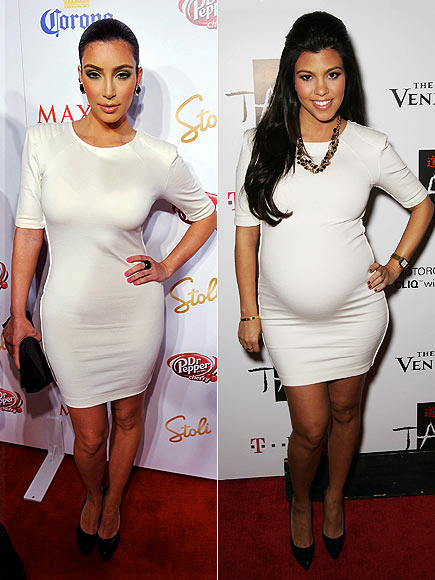 KIM VS. KOURTNEY photo | Kim Kardashian, Kourtney Kardashian