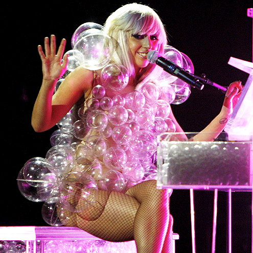 TINY BUBBLES photo | Lady Gaga