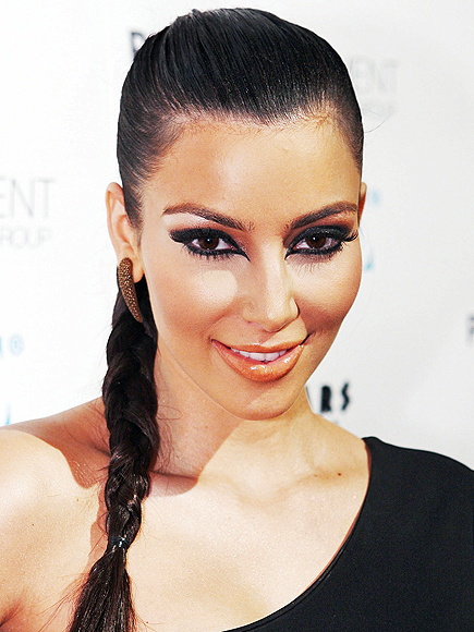 KIM&#39;S CAT EYES photo | Kim Kardashian