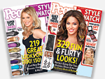 Try 2 FREE PREVIEW Issues of PEOPLE StyleWatch!