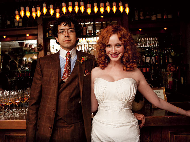 CHRISTINA & GEOFFREY photo | Christina Hendricks