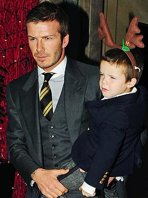HOLLY JOLLY HOLIDAY photo | David Beckham