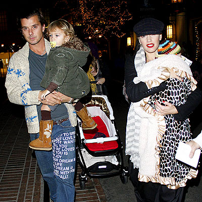 BABES IN ARMS photo | Gavin Rossdale, Gwen Stefani