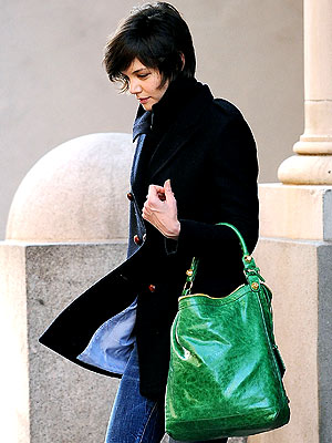 GREEN WITH ENVY photo | Katie Holmes