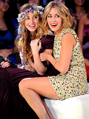 FRIENDS-IN-ARMS photo | Lauren Conrad, Whitney Port