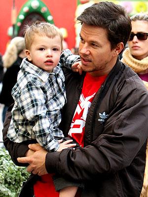 SANTA BABIES photo | Mark Wahlberg