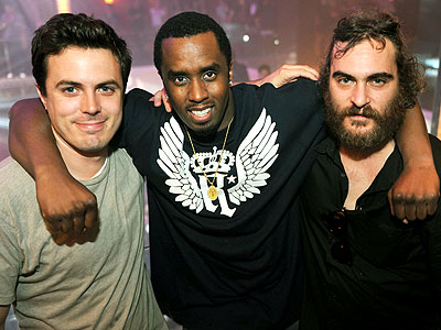 PARTY BOYS photo | Casey Affleck, Joaquin Phoenix, Sean \P. Diddy\ Combs