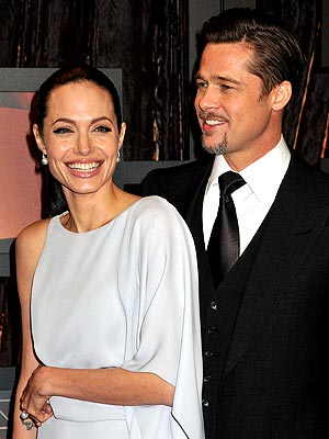 A POLISHED PAIR photo | Angelina Jolie, Brad Pitt