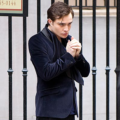 THE EYES HAVE IT photo | Ed Westwick