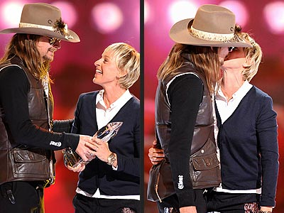 BUSS STOP photo | Ellen DeGeneres, Kid Rock