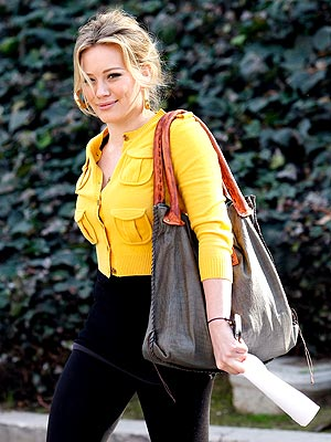 MELLOW YELLOW photo | Hilary Duff