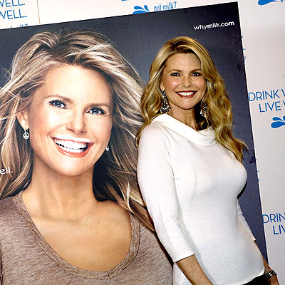 MILK-ING IT photo | Christie Brinkley