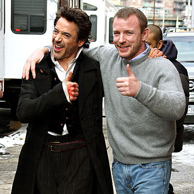 ALL SYSTEMS GO  photo | Guy Ritchie, Robert Downey Jr.