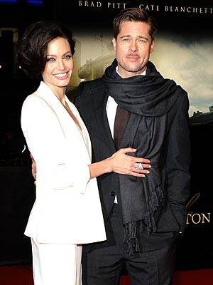 OPPOSITES ATTRACT photo | Angelina Jolie, Brad Pitt