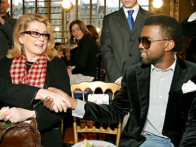 FASHION OUTREACH  photo | Catherine Deneuve, Kanye West