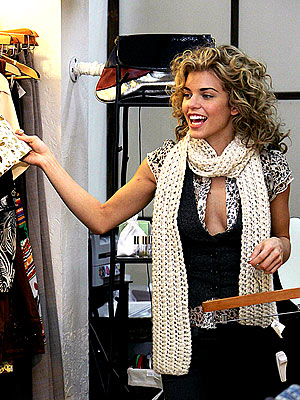 'RACK'-ING IT UP  photo | AnnaLynne McCord