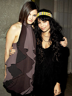 'FROCK' PARTY photo | Ginnifer Goodwin, Zoe Kravitz