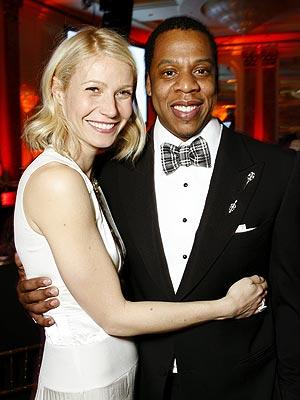 FRIENDS IN ARMS photo | Gwyneth Paltrow, Jay-Z