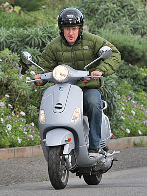 SCOOTING AROUND photo | Owen Wilson