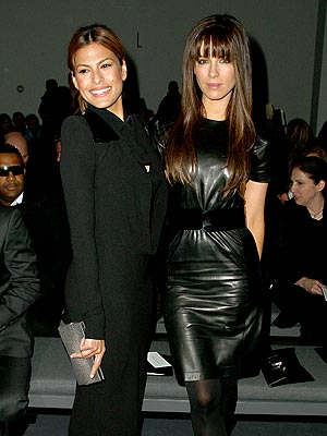 BLACK IS BACK   photo | Eva Mendes, Kate Beckinsale