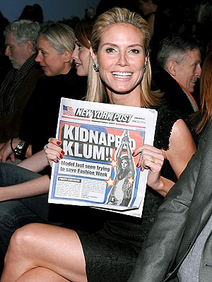 IT'S SUPER HEIDI! photo | Heidi Klum