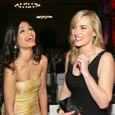 THE JOKE'S ON THEM photo | Freida Pinto, Kate Winslet