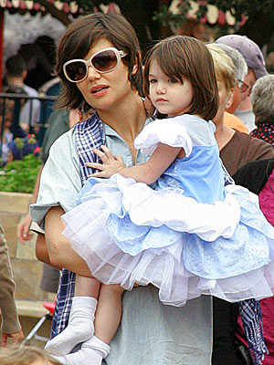 magic kingdom disney world. SURI CRUISE at Disney World#39;s