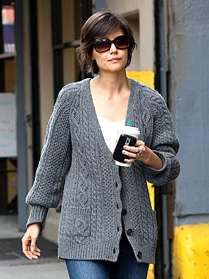 WORKING MOM photo | Katie Holmes