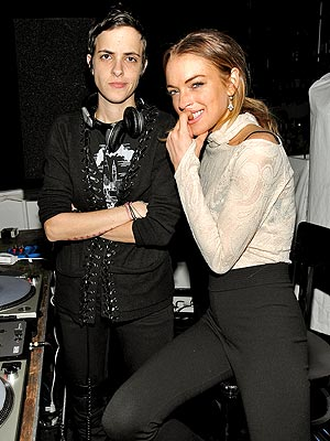 TUNING UP photo | Lindsay Lohan, Samantha Ronson