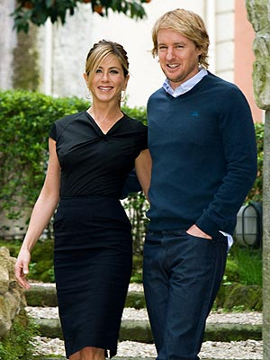 BUON GIORNO photo | Jennifer Aniston, Owen Wilson