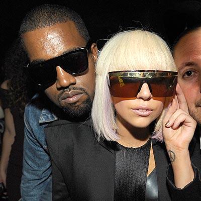 SHADY DUO photo | Kanye West, Lady Gaga