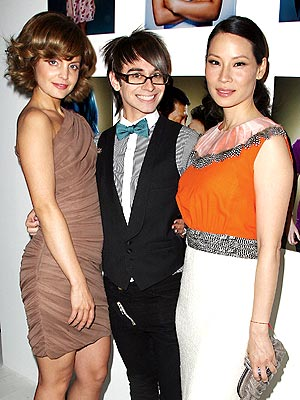 CAST OF 'CHARACTERS' photo | Christian Siriano, Lucy Liu, Mena Suvari