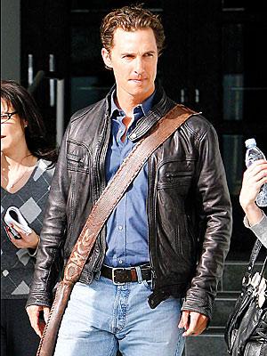 DRESSED TO IMPRESS photo | Matthew McConaughey