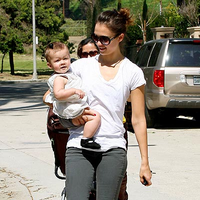 MOMMY & ME photo | Jessica Alba