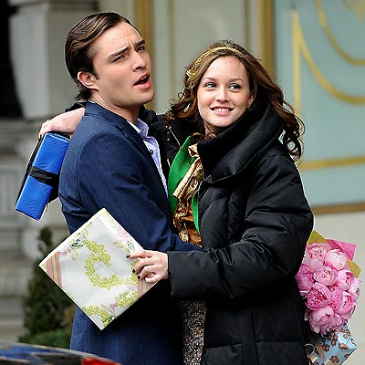 HUG IT OUT photo | Ed Westwick, Leighton Meester